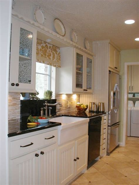 galley kitchen cabinets 1000 ideas about galley kitchens on pinterest kitchens