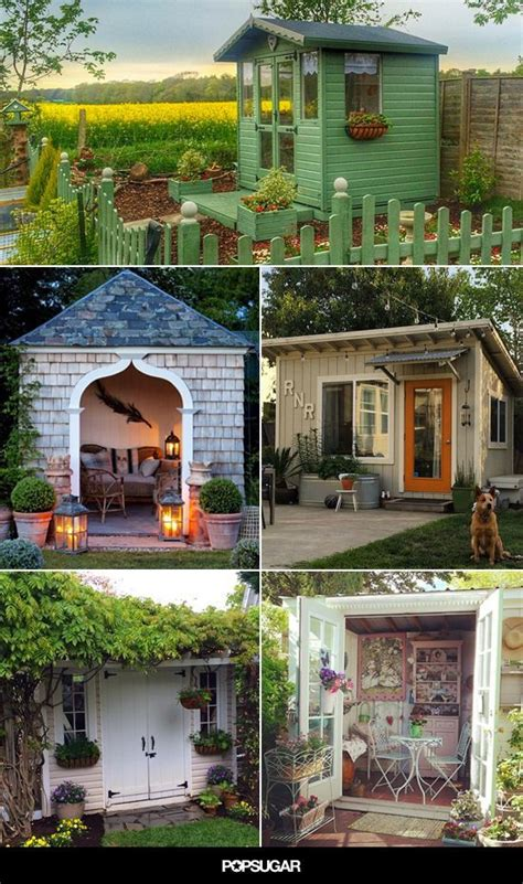 these she sheds are a perfectly serene escape 202 best images about she sheds on pinterest backyard