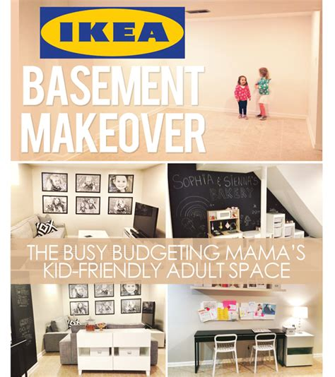 ikea basement ideas our ikea basement makeover a kid friendly space