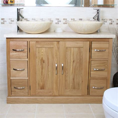 bathroom oak vanity units 50 off oak double vanity unit with marble top bathroom