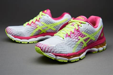 womens shoes asics womens gel nimbus  whiteflash