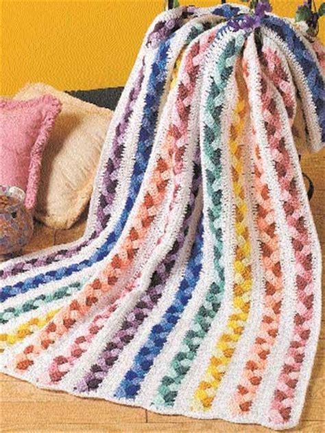 pattern for scrap yarn afghan plaited scraps afghan 3 99 crochet afghan patterns