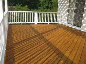 deck staining and painting in time for summer colour