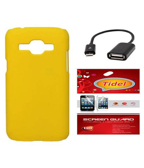 Otg Samsung J5 tidel back cover for samsung galaxy j5 yellow with tidel screen guard micro otg cable buy