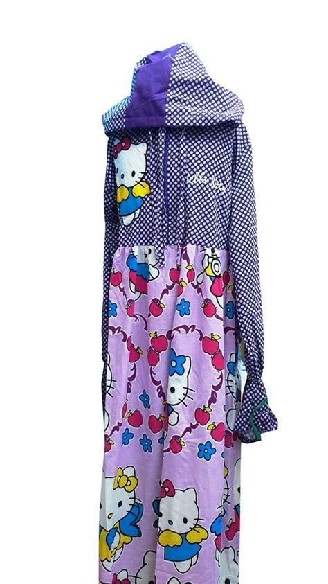 Mukena Anak Hk Kimono Pink Xl mukena anak lucu toko bunda