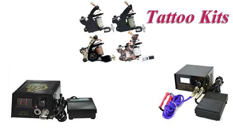 tattoo kits es top 5 tattoo kits for cheap 2018 youtube