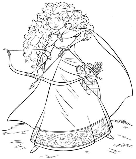 free coloring pages of disney world free disney brave coloring pages printabel