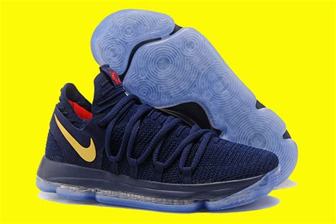 Kd 10 Olimpyc nike kd 10 olympic blue and yellow for sale new jordans 2018