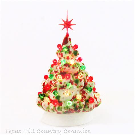 small ceramic light up christmas tree tabletop ceramic christmas tree christmas lights decoration