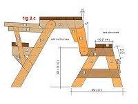 convert a bench plans best 25 folding picnic table ideas only on