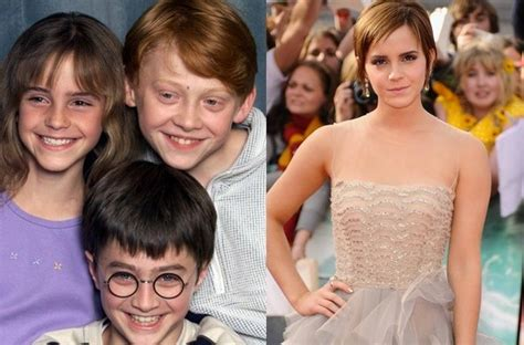 emma watson now and then emma watson then and now pictures harry potter pics
