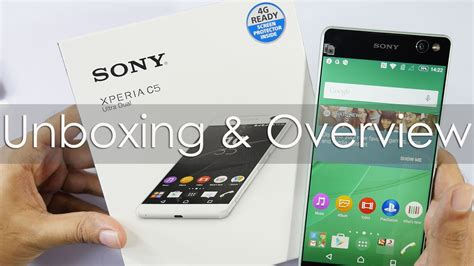 Chrome Sony Xperia C5 Tpusoftcaseultrathin sony xperia c5 ultra dual unboxing overview