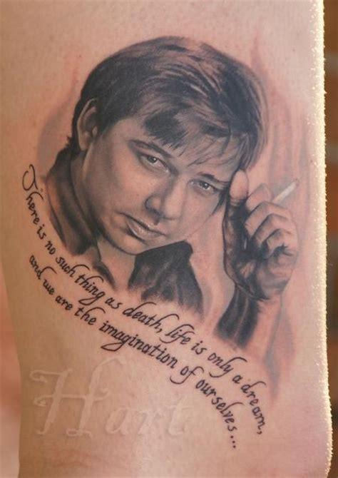 richard tattoo bill hicks portrait by richard hart tattoonow
