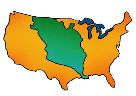 louisiana map clipart louisiana purchase free american history powerpoints