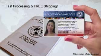 Car Rental Los Angeles International Drivers License The International Driver S License Of Idl Services Inc