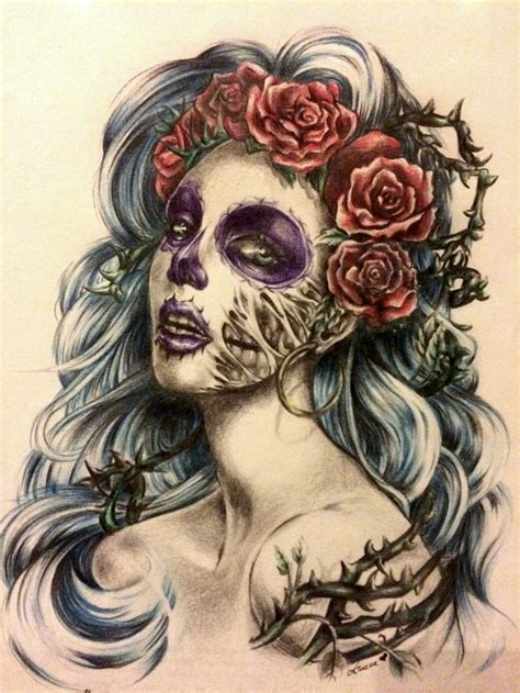 santa muerte tattoo images 52 best drawing and sketches images on antlers