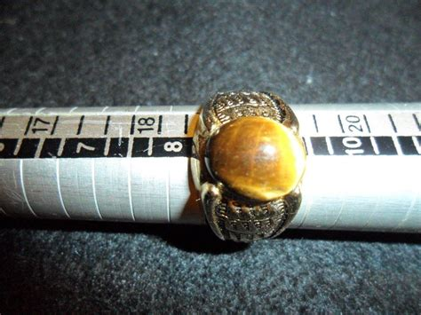 Tiger Eye Ii Ring 19 a to z minerals and rock shop vintage estate jewelry