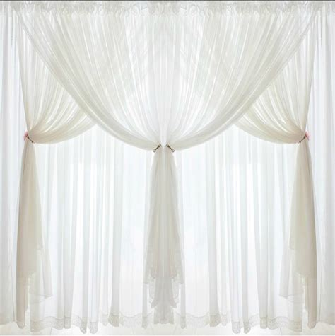 wedding curtains shop popular white bedroom curtains from china aliexpress