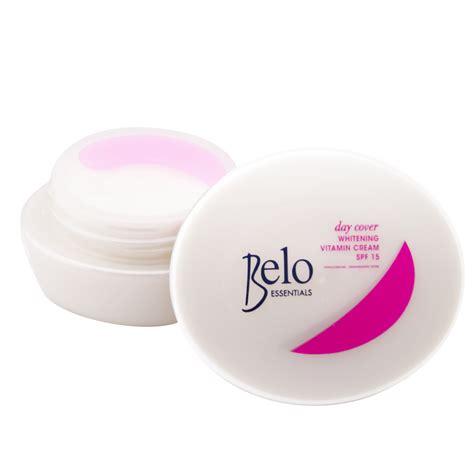 Day Whitening belo essentials day cover whitening vitamin spf15 50g
