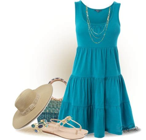 polyvore casual dress outfits  spring  summer