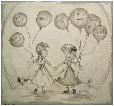 doodle with your friends dibujos a lapiz para una amiga querida dibujos de a