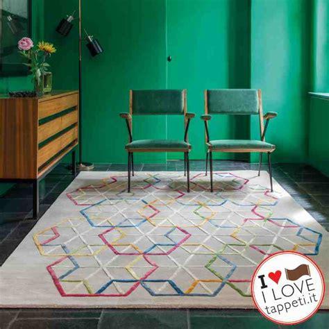 sobel tappeti tappeti design moderno diamante multi nero rosso grigio