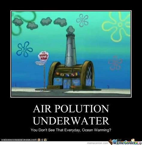What Is Air Meme - air pollution underwater you don t see that everyday