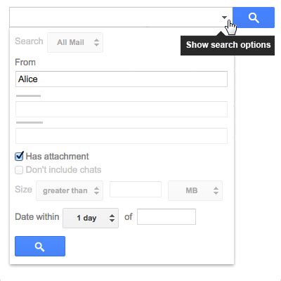 How To Narrow Search How To Narrow Your Email Search With Advanced Options In Gmail Hostpapa Knowledge Base