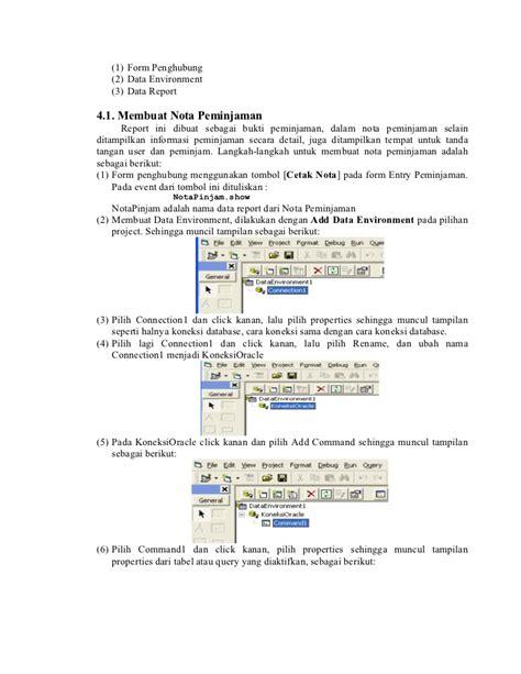 Aplikasi Basis Data Dengan Visual Basic Net Cd I Ketut Darmayuda membangun aplikasi database oracle menggunakan visual basic