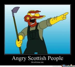 Funny Scottish Memes - racist scottish jokes kappit