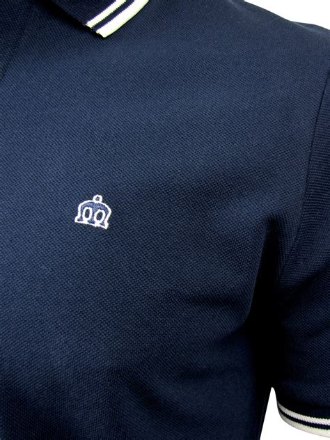 Cr 55 Cloud Pendek Casual mens merc card pique polo shirt mod retro ebay