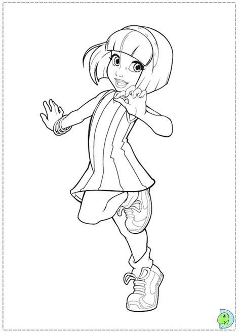 lazy town coloring pages    print