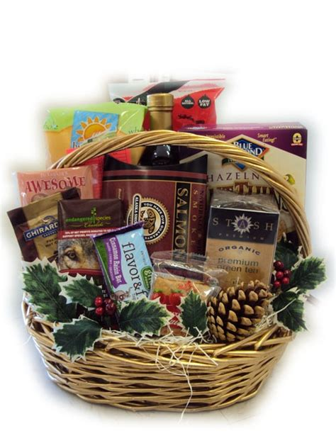 heart healthy christmas gift basket diy holiday crafts