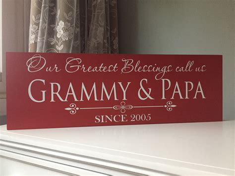 personalized gifts for grandparents personalized gifts for grandparents grandparents sign nana