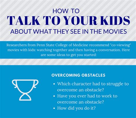 themes to talk about how to talk to kids about what they see in movies