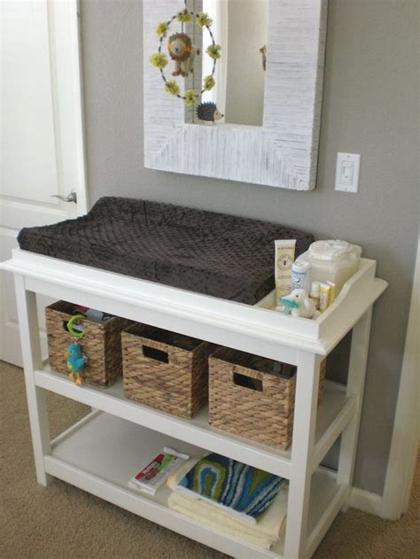 alternative changing table ideas 25 best ideas about changing table storage on