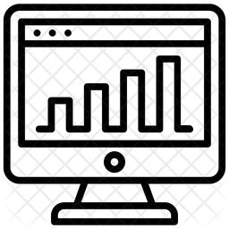web traffic icon   style   svg png