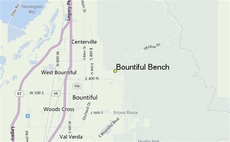 bench map bountiful bench weather station record historical