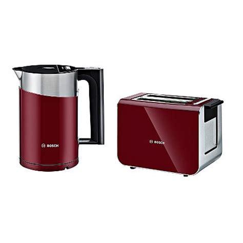 Range Toasters Bosch Styline Kettle Toaster Range Cranberry