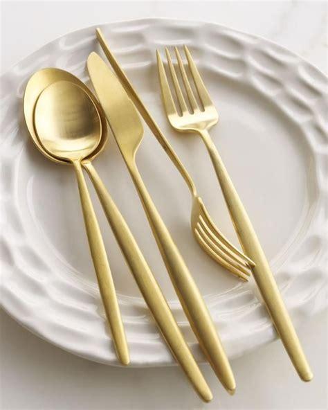 ikea besteck gold 25 best ideas about gold flatware on modern