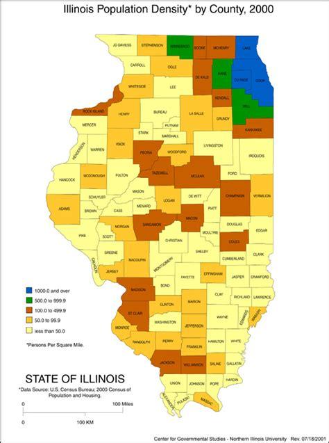 illinois population density map 21 popular illinois population map by county swimnova
