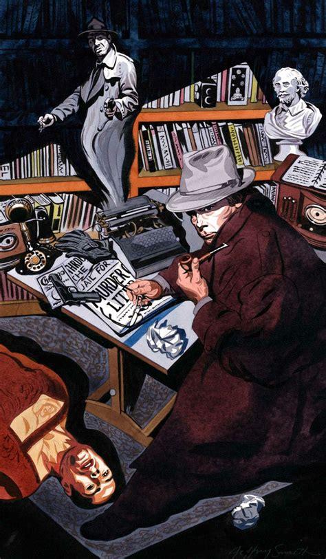 best fiction writers 34 best murder illustrations by jeffrey smith illustrator