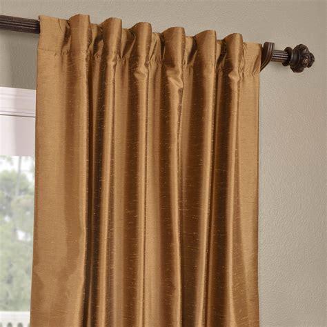 gold silk drapes buy empire gold yarn dyed faux dupioni silk curtains