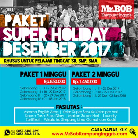 paket gratis indosat desember 2017 paket super holiday di mr bob kung inggris desember
