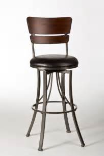 hillsdale santa swivel bar stool