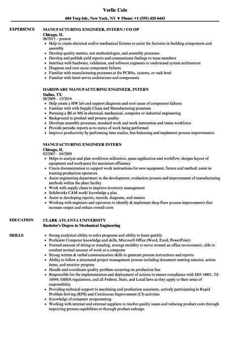 magnificent production engineer resume sles photos