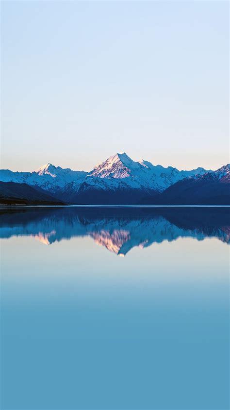 mountain lake beautiful nature blue sky iphone 6 plus