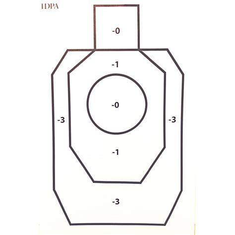 free printable idpa targets shooting target silhouette printable printable silhouette