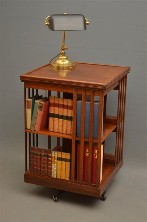 revolving bookcase by j schoolbred co 438769