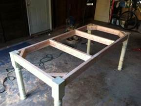 How To Build Dining Room Table how to build a vintage style dining room table yourself